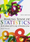 Making Sense of Statistics: A Conceptual Overview  2014 edition cover
