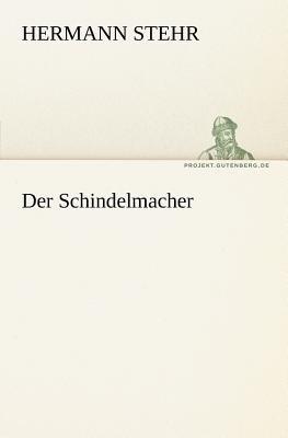 Schindelmacher   2011 9783842413276 Front Cover