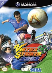 Virtua Striker 3 Ver.2002 GameCube artwork