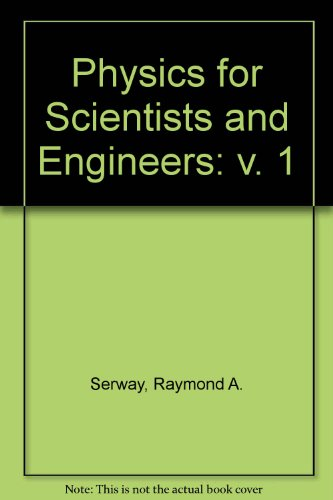 Physics for Scientists and Engineers With Modern Physics:   1993 edition cover