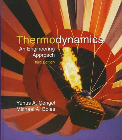 Thermodynamics An Engineering Approach 3rd 1997 edition cover