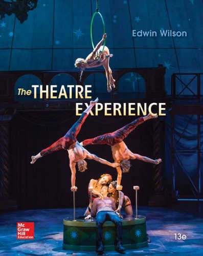 The Theatre Experience:   2014 9780073514277 Front Cover