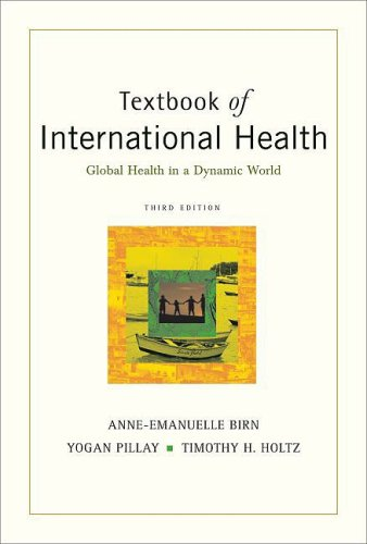 Textbook of International Health Global Health in a Dynamic World 3rd 2009 edition cover