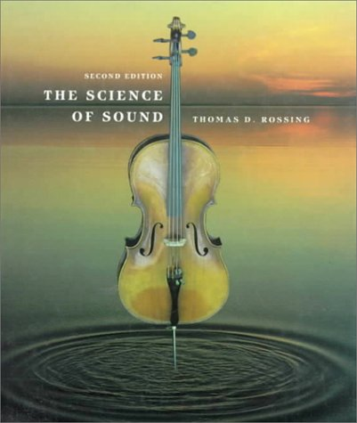 Science of Sound  2nd 1990 edition cover