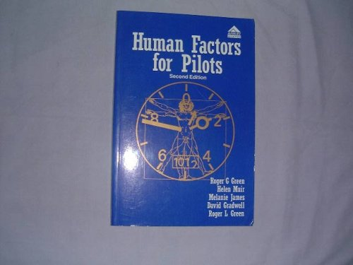 Human Factors for Pilots  2nd 1996 (Revised) 9780291398277 Front Cover