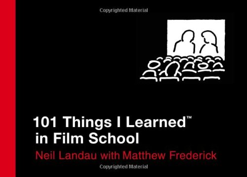 101 Things I Learned in Film School   2010 edition cover