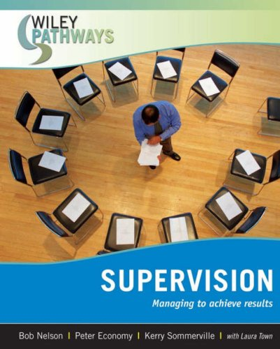 Supervision Managing to Achieve Results  2008 edition cover