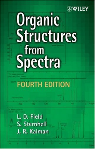 Organic Structures from Spectra  4th 2008 edition cover