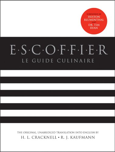 Escoffier Le Guide Culinaire, Revised 2nd 2011 edition cover