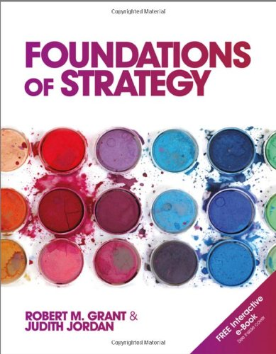 Foundations of Strategy   2012 edition cover