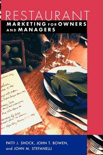 Restaurant Marketing for Owners and Managers   2004 edition cover