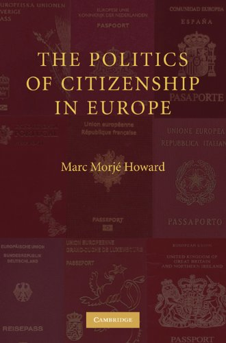 Politics of Citizenship in Europe   2009 edition cover