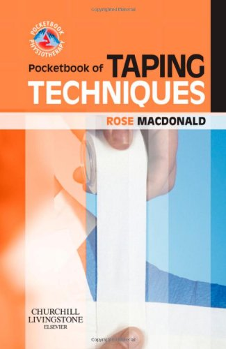 Pocketbook of Taping Techniques   2009 edition cover