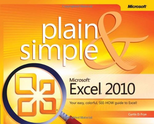 Microsoft� Excel� 2010   2010 edition cover