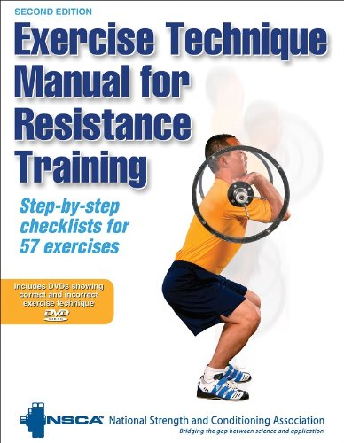 Exercise Technique Manual for Resistance Training  2nd 2008 edition cover