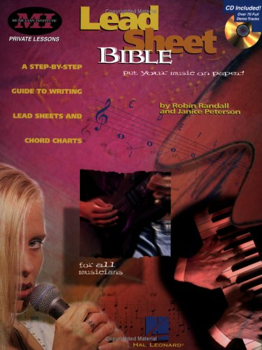 Lead Sheet Bible A Step-by-Step Guide to Writing Lead Sheets and Chord Charts  1997 edition cover