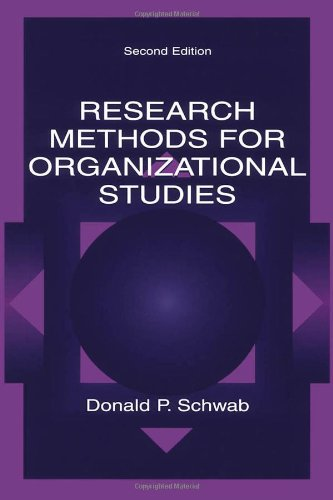 Research Methods for Organizational Studies  2nd 2004 (Revised) edition cover