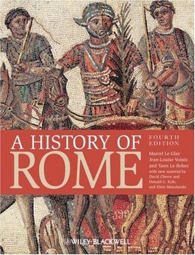 History of Rome  4th 2009 edition cover