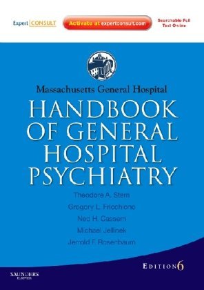 Massachusetts General Hospital Handbook of General Hospital Psychiatry  6th 2010 edition cover
