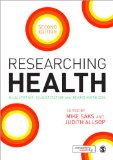 Researching Health Qualitative, Quantitative and Mixed Methods 2nd 2013 edition cover