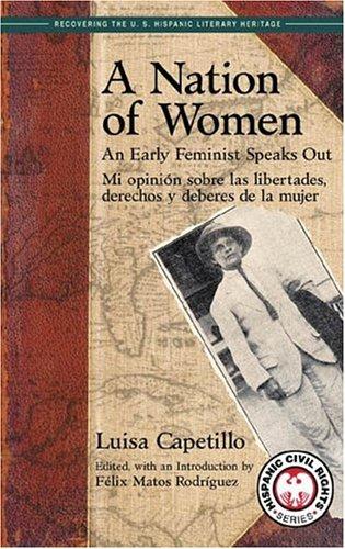 Nation of Women: an Early Feminist Speaks Out/Mi Opinion Sobre Las Libertades, Derechos y Deberes de la Mujer  2004 edition cover