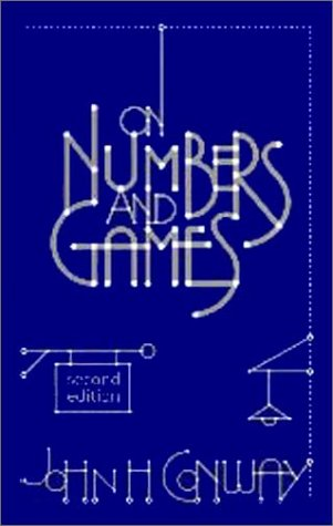 On Numbers and Games  2nd 2000 (Revised) edition cover