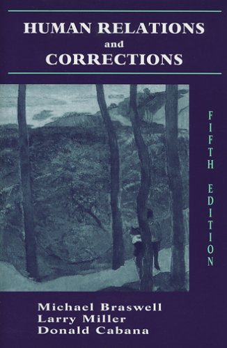 Human Relations and Corrections  5th 2006 edition cover