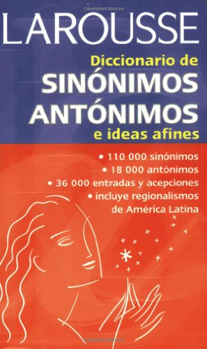 Thesaurus in Spanish/English   2002 edition cover