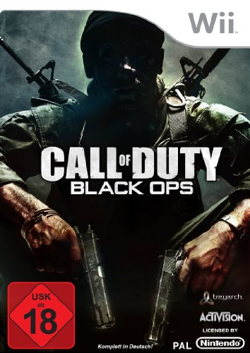 Call of Duty: Black Ops Nintendo Wii artwork