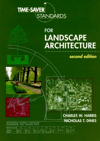Time-Saver Standards for Landscape Architecture  2nd 1998 (Revised) edition cover