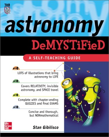 Astronomy Demystified   2003 9780071384278 Front Cover