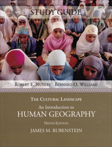 Cultural Landscape An Introduction to Human Geography 9th 2008 edition cover