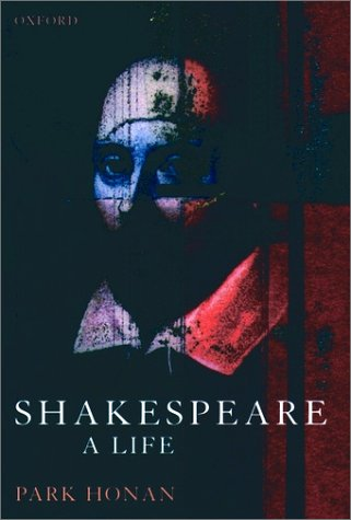 Shakespeare A Life  1999 edition cover