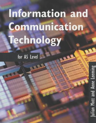 Information and Communication Technology AS Level N/A edition cover