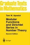 Modular Functions and Dirichlet Series in Number Theory  2nd 1990 (Revised) edition cover