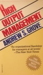 High Output Management N/A edition cover