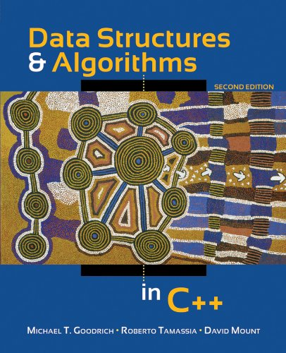 Data Structures and Algorithms in C++  2nd 2011 edition cover