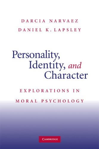 Personality, Identity, and Character Explorations in Moral Psychology  2009 9780521719278 Front Cover