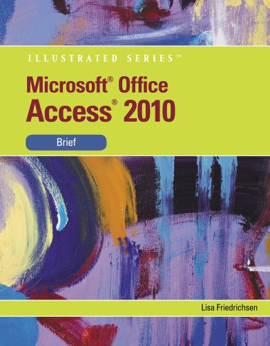 Microsoft� Access 2010   2011 9780538748278 Front Cover