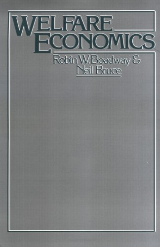 Welfare Economics   1984 9780631133278 Front Cover