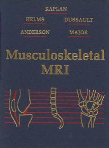 Musculoskeletal MRI   2001 9780721690278 Front Cover