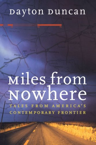 Miles from Nowhere Tales from America's Contemporary Frontier  2000 edition cover