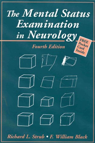 Mental Status Examination in Neurology  4th 2000 (Revised) edition cover