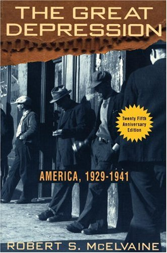 Great Depression America 1929-1941 N/A edition cover
