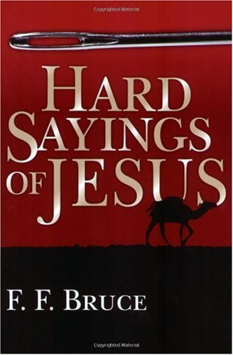 Hard Sayings of Jesus  N/A edition cover