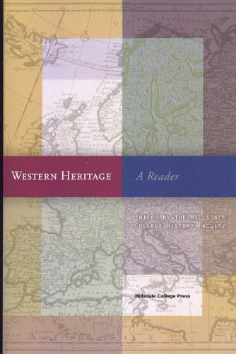 Western Heritage A Reader  2010 edition cover