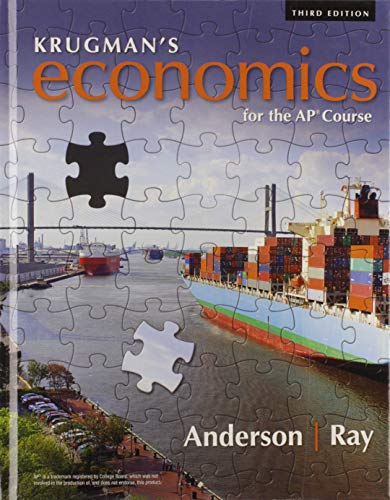 Krugman's Economics for the AP® Course  3rd 2019 9781319113278 Front Cover