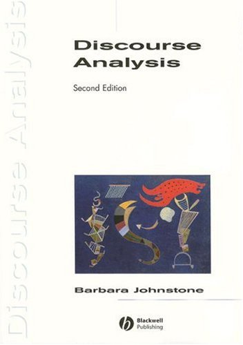 Discourse Analysis  2nd 2007 (Revised) edition cover