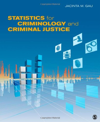 Statistics for Criminology and Criminal Justice   2013 edition cover