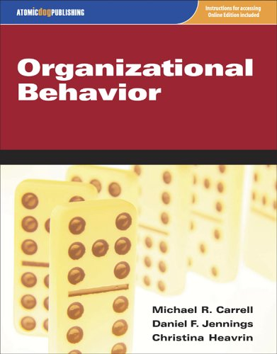 Organizational Behavior  2nd 2005 edition cover